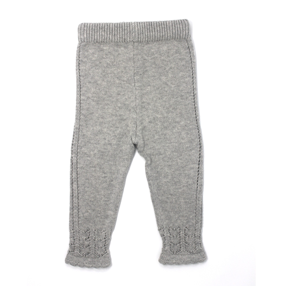 608d46549 Baby Girl Knitted Soft Legging - MolliMoo