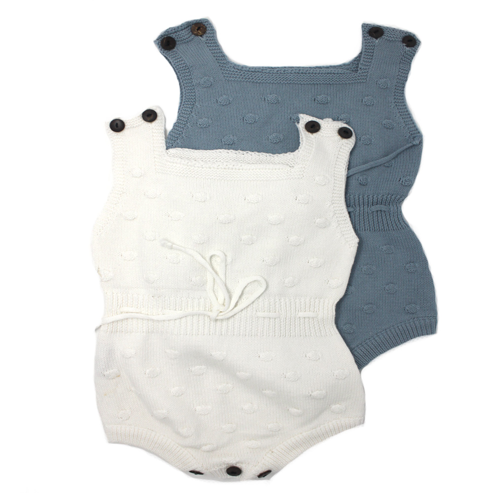 7b3250549 Knitted Bubble Shorts Romper - MolliMoo